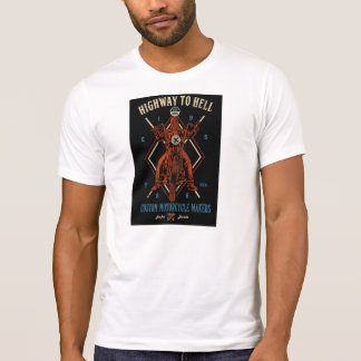 Easy riders, Highway to hell , motorcycle makers Tee Shirt