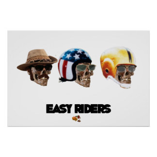 EASY RIDERS (MUERTA...DEATH BECOMES YOU) POSTER