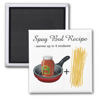 Easy Spag Bol Recipe Magnet