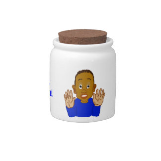 Easy There Sweet Tooth Candy Jar