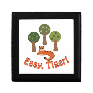 Easy Tiger Keepsake Box