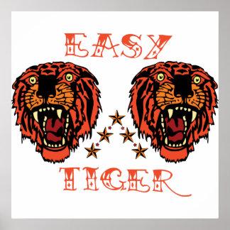 Easy Tiger Tattoo Punk Print
