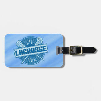 Easy To Customize Lacrosse Dad Luggage Tag