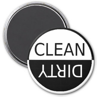 Easy To See CLEAN DIRTY Dishwasher Magnet