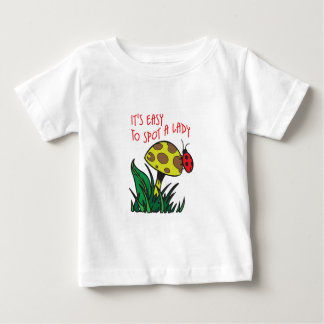 EASY TO SPOT A LADY SHIRTS