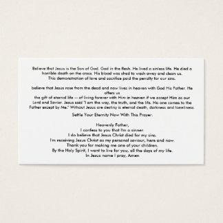 Easy Witness Card