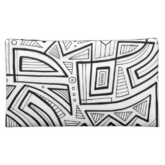 Easygoing Calm Poised Honored Cosmetic Bag