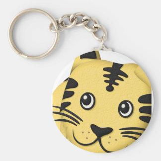 Easygoing tiger_tsz04f keychain