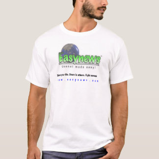 Easynews - Usenet & Fighting Cancer - By ExDeus T-Shirt