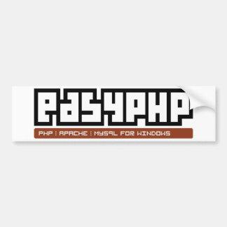 EasyPHP Pegatina De Parachoque
