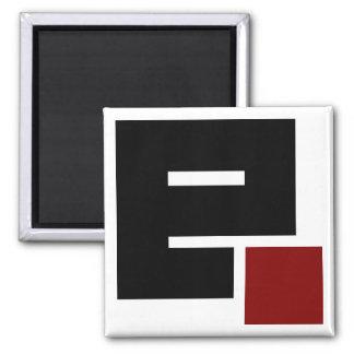 EasyPHP - logotipo Imán Cuadrado