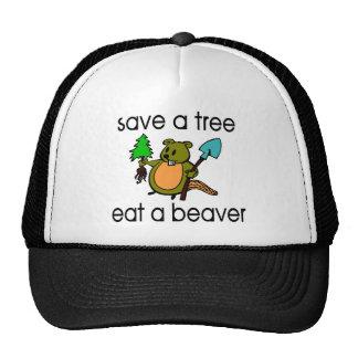 Eat A Beaver Trucker Hat