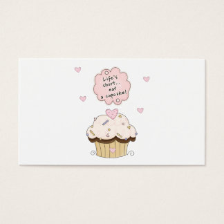 Eat A Cupcake Business Card
