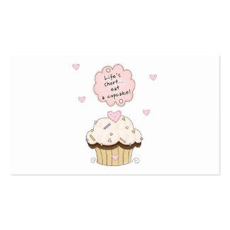 Eat A Cupcake Business Card Templates