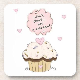 Eat A Cupcake Coaster