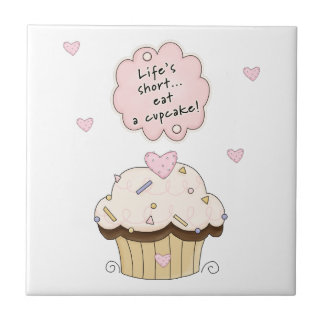 Eat A Cupcake Tiles