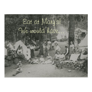 Eat at Mary's! Postcard