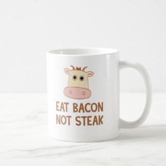 Eat Bacon Not Steak Coffee Mug