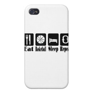 eat basketball sleep and repeat case for iPhone 4