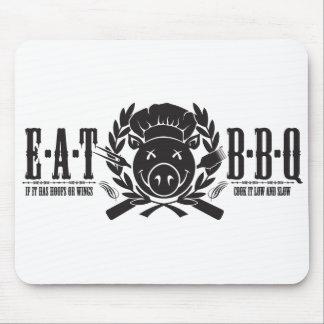 Eat BBQ Light Mouse Pad