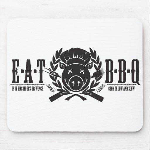 Eat BBQ Light Mousepad