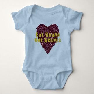 Eat Beans Not Beings Baby Bodysuit