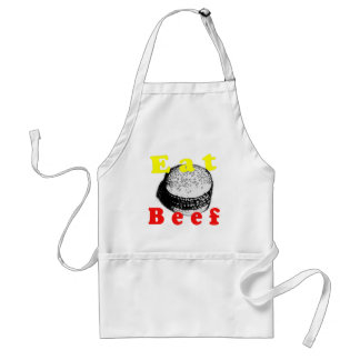 Eat Beef Adult Apron