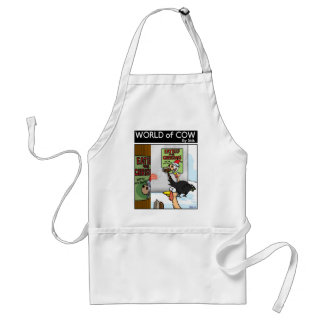 Eat Beef at Christmas Aprons