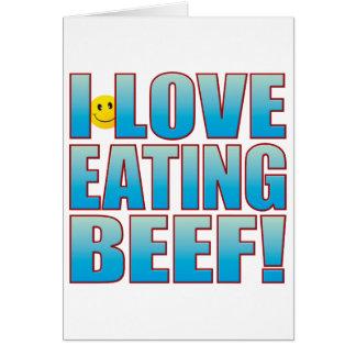 Eat Beef Life B Card