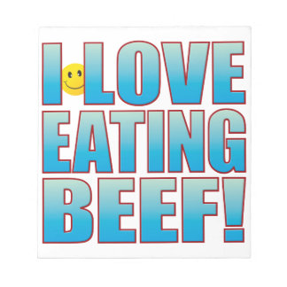 Eat Beef Life B Note Pad