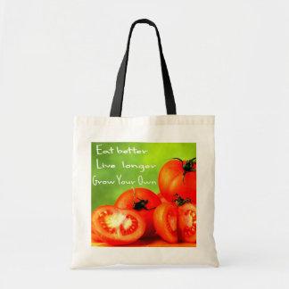 EAT BETTER LIVE LONGER TOTE BAG