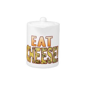 Eat Blue Cheese Teapot