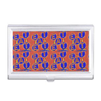 eat business card holder