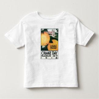 Eat CA Oranges on Orange Day Toddler T-shirt