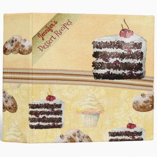 Eat Cake & Cookies Recipe Binder