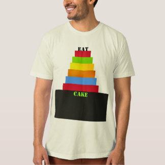 Eat Cake in Multicolors T-Shirt