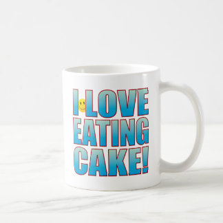 Eat Cake Life B Coffee Mug