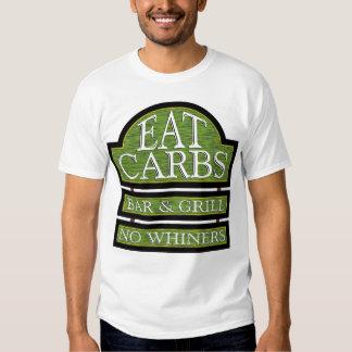 Eat Carbs Bar & Grill - Shut-up Design Shirt
