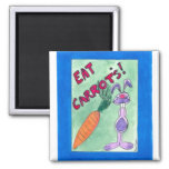 eat carrots  Magnet
