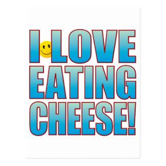 Eat Cheese Life B Postcard