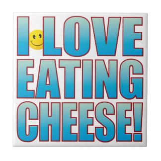 Eat Cheese Life B Tile