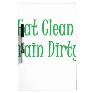 Eat clean green Dry-Erase board