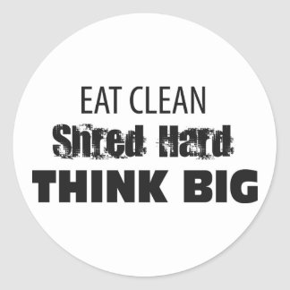 eat clean stickers