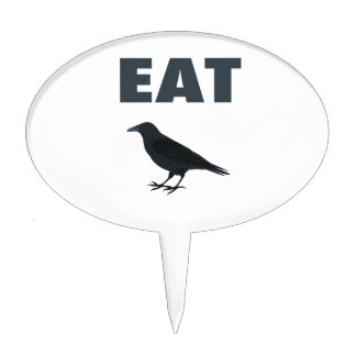 Eat Crow Cake Topper
