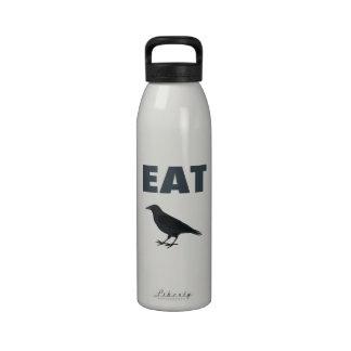 Eat Crow Water Bottles