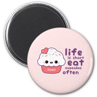 Eat Cupcakes Magnet