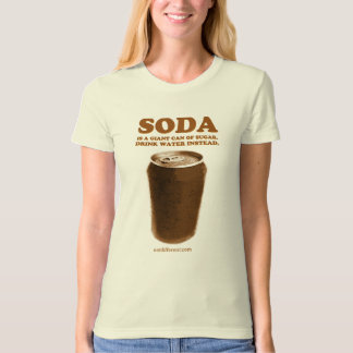 Eat Different: Don't Drink Soda T-Shirt