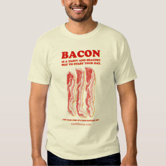 Eat Different: Eat Bacon Tee Shirt
