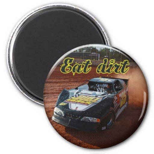 eat dirt racing magnets