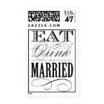 EAT DRINK AND BE MARRIED | POSTAGE